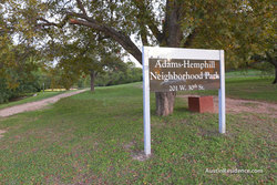 North Campus Adams Hemphill Neighborhood Park