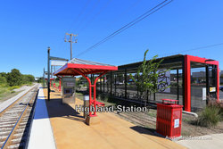 North Central Austin Highland MetroRail Station