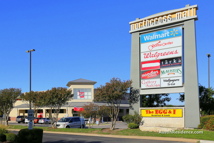 North Central Austin Northcross Mall Retailers