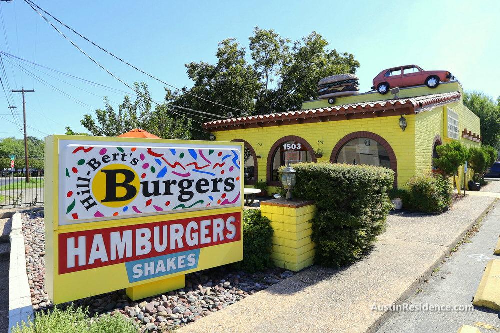 Old West Austin Hill-Bert's Burgers
