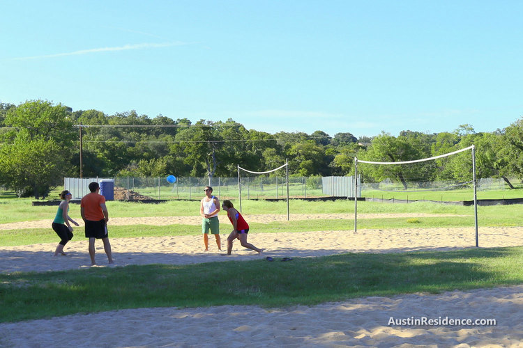 Old West Austin Pease Park Sand Volleyball