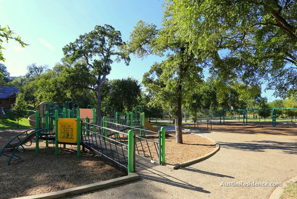 Old West Austin Pease Park Playground