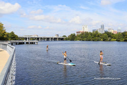 Riverside Stand Up Paddle Boarding Lady Bird Lake