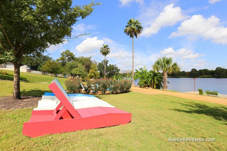Riverside Lounge Chairs Near Lady Bird Lake