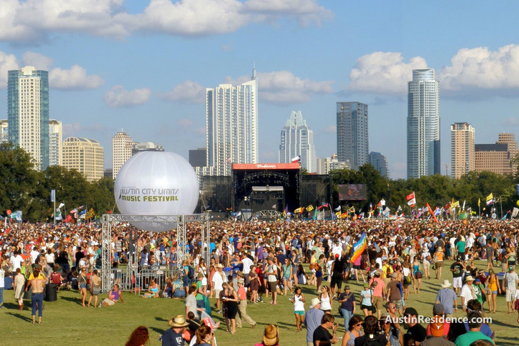 South Central Austin Austin City Limits Music Festival