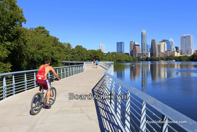 South Central Austin Boardwalk Trail