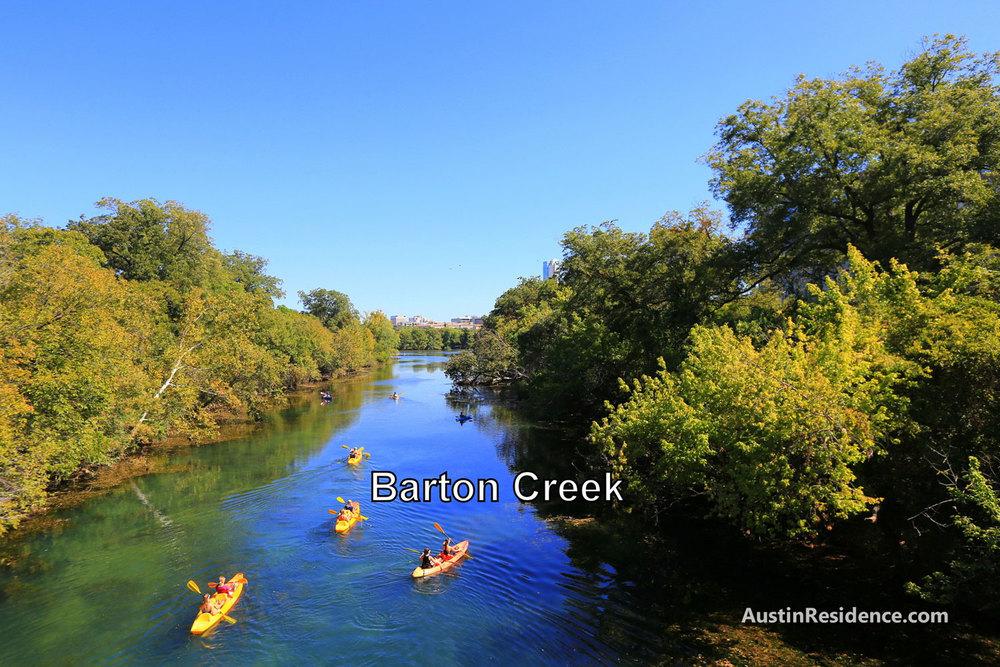 South Central Austin Barton Creek