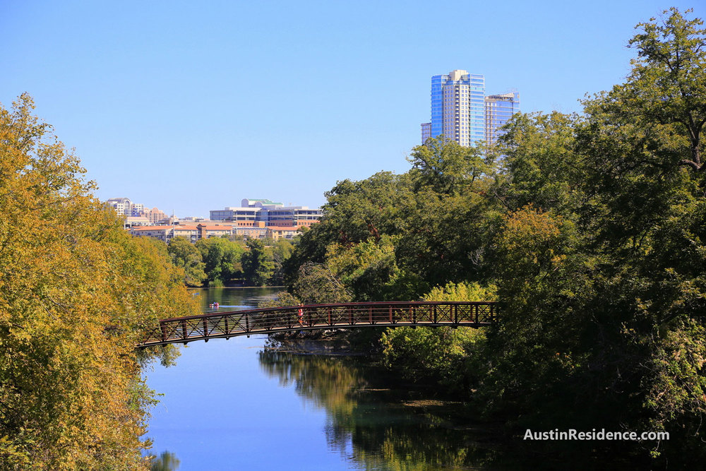 South Central Austin Barton Creek Bridge