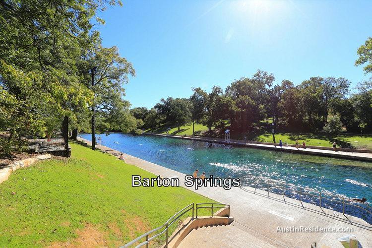 South Central Austin Barton Springs Pool