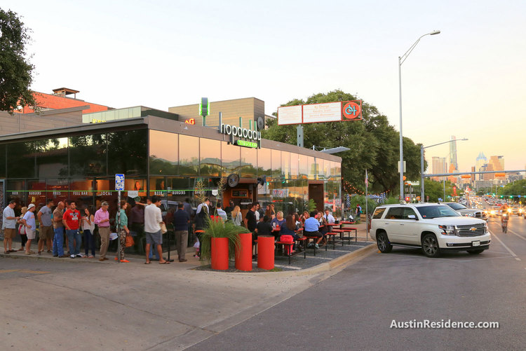 South Central Austin Hopdoddy Burger Bar