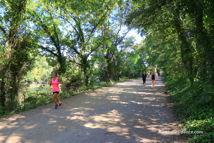 South Central Austin Hike and Bike Trail Running