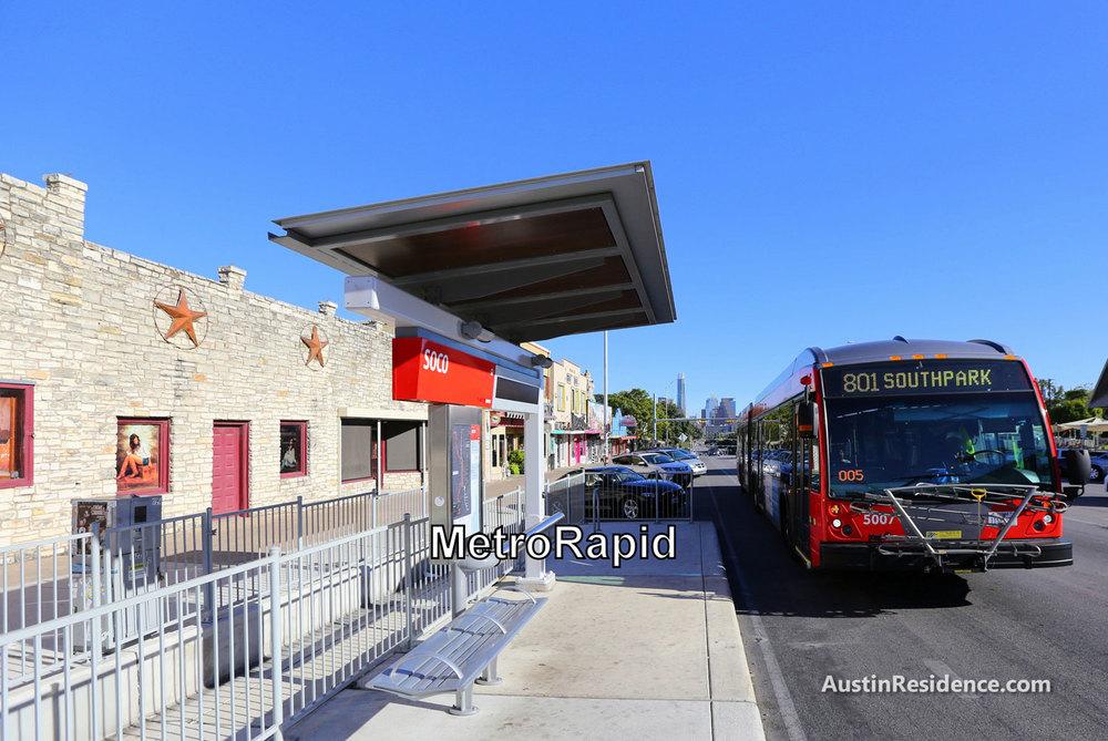 South Central Austin MetroRapid 801