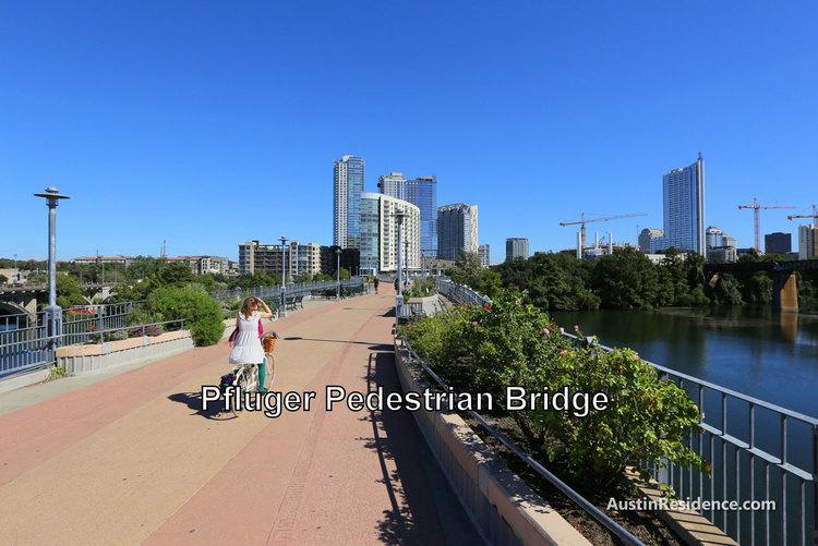 South Central Austin Pfluger Pedestrian Bridge