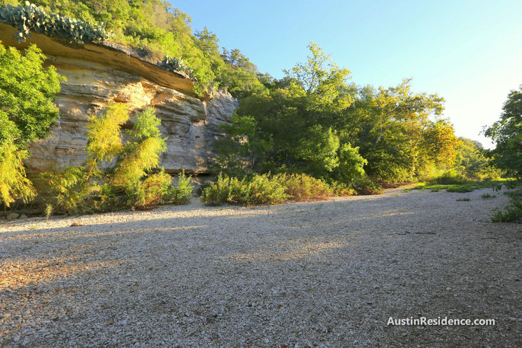 South Central Austin Barton Creek Greenbelt Creek Bed