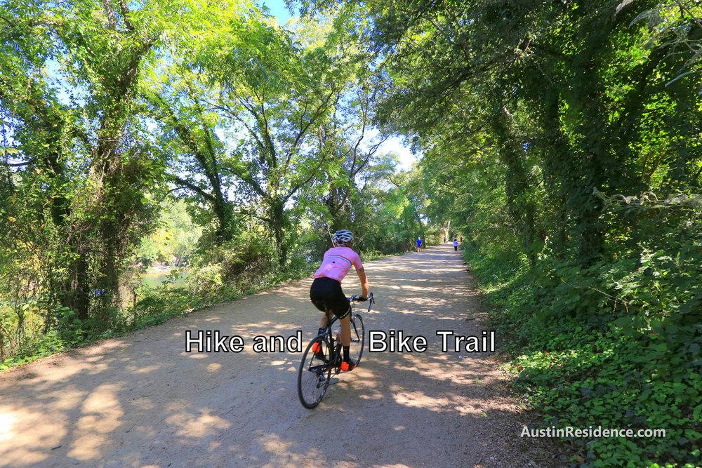 South Central Austin Hike and Bike Trail Biking