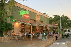 South Central Austin Guero's Taco Bar
