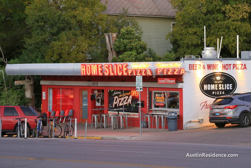 South Central Austin Home Slice Pizza
