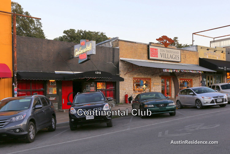 South Central Austin Continental Club