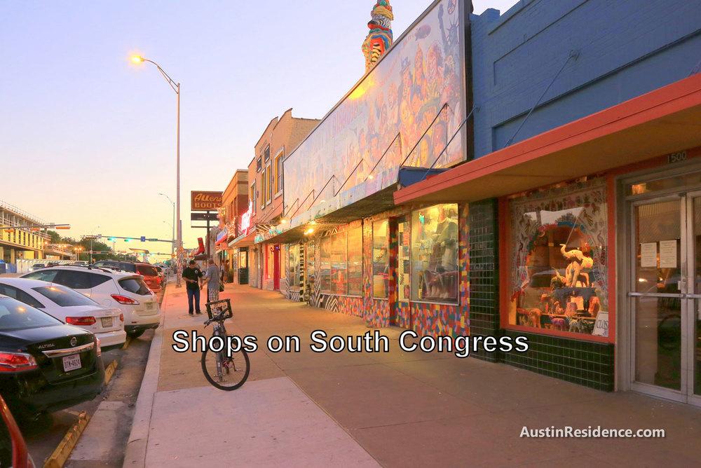 South Central Austin South Congress Shops