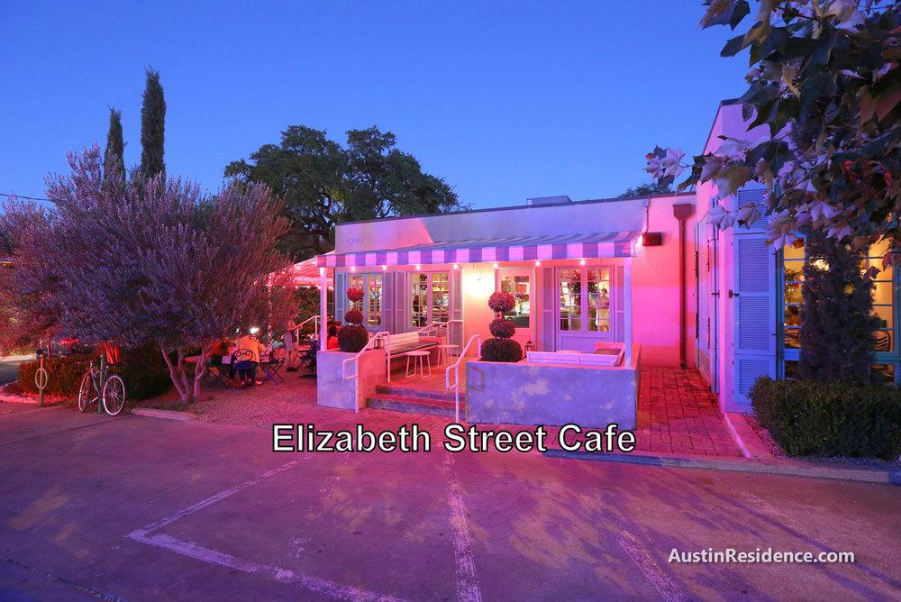 South Central Austin Elizabeth Street Cafe