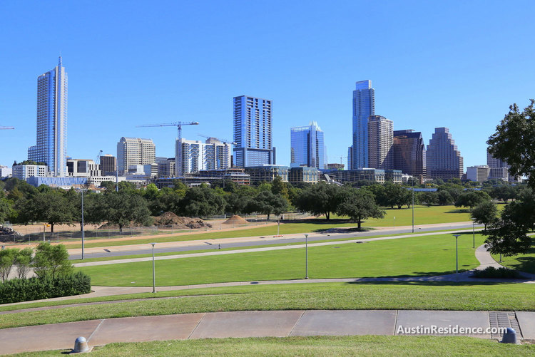 South Central Austin Butler Park Downtown View