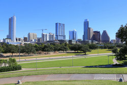 South Central Austin Butler Park Downtown View