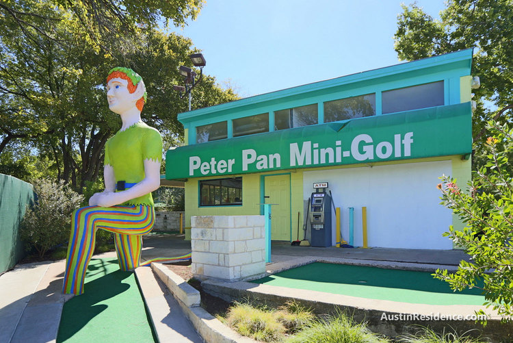 South Central Austin Peter Pan Mini Golf