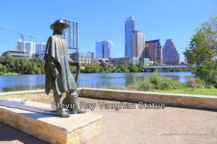 South Central Austin Stevie Ray Vaughan Statue