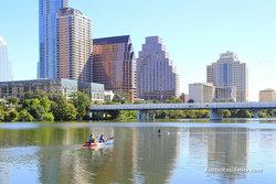 South Central Austin Lady Bird Lake Kayaking