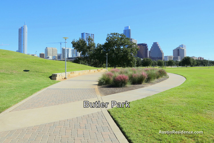 South Central Austin Butler Park
