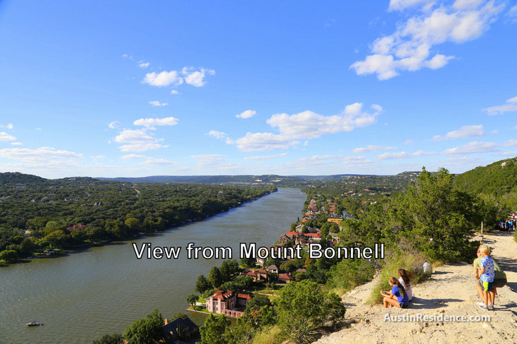 Tarrytown Lake Austin View from Mount Bonnell