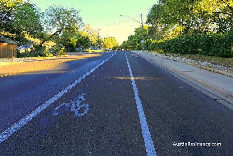 Tarrytown Exposition Blvd Bike Lane