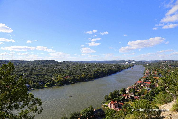 Tarrytown Lake Austin View from Mount Bonnell