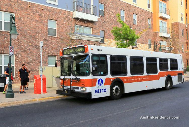 West Campus UT Shuttle