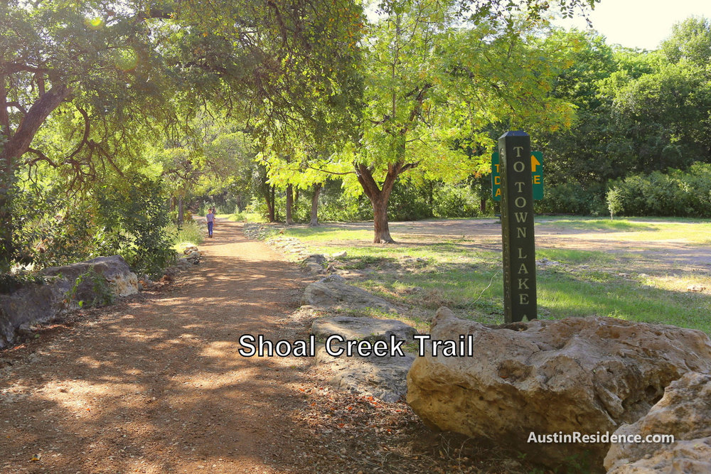 West Campus Shoal Creek Trail