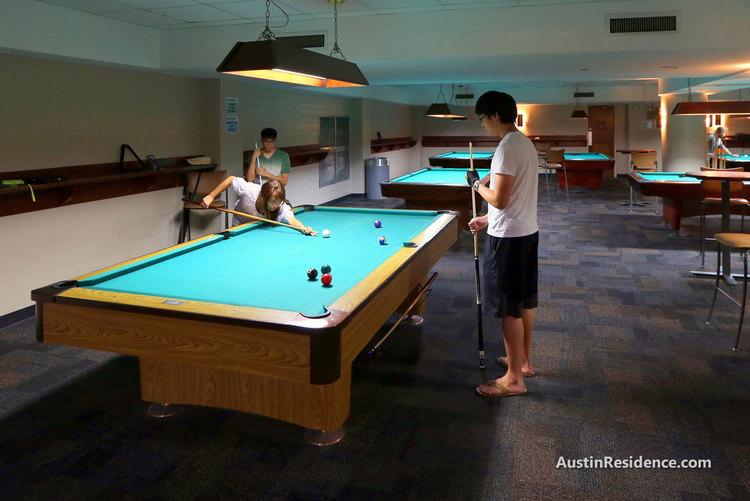 West Campus Union Underground Billiards