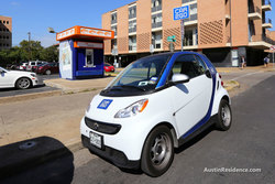 West Campus Car2Go