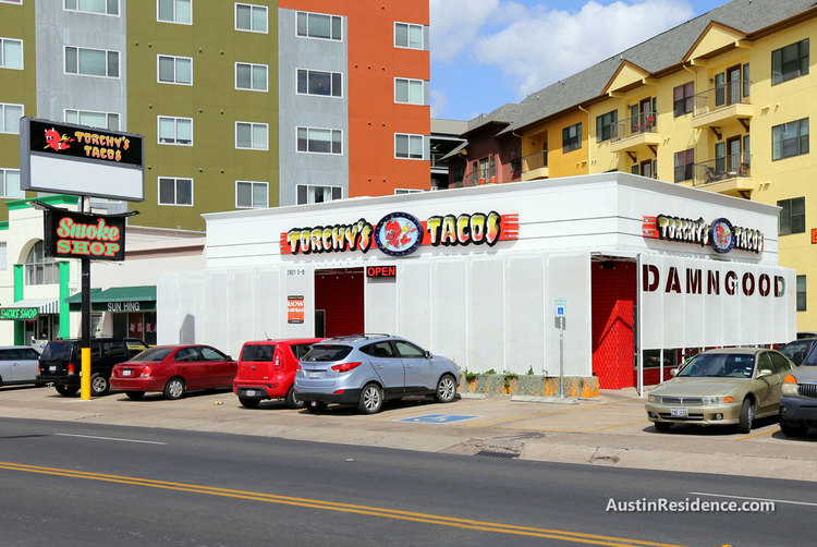 West Campus Torchy's Tacos and Apartments