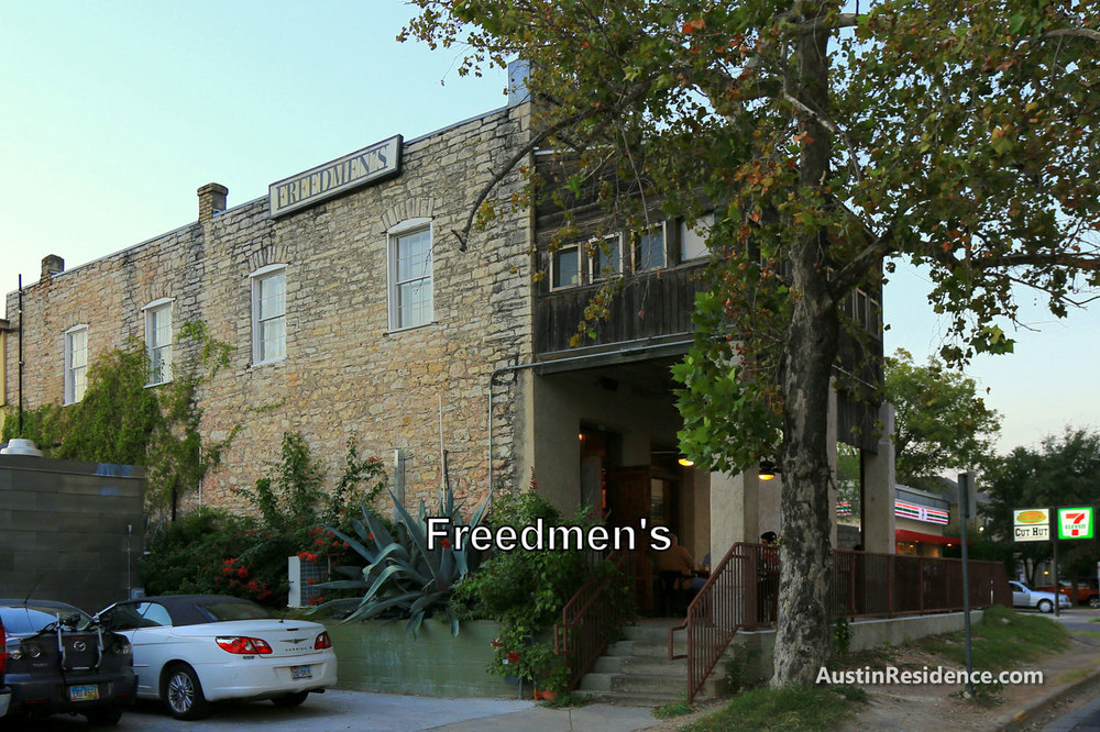West Campus Freedmen's in Franzetti Store