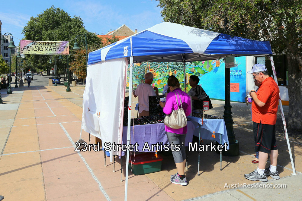 West Campus 23rd Street Artists' Market