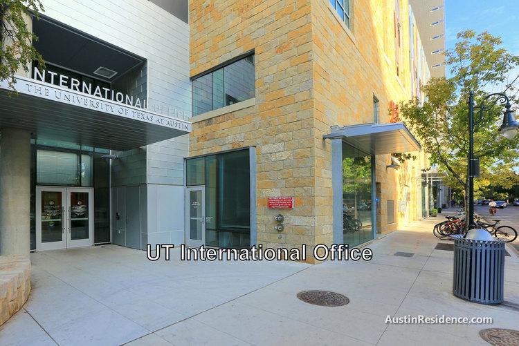 West Campus UT Austin International Office