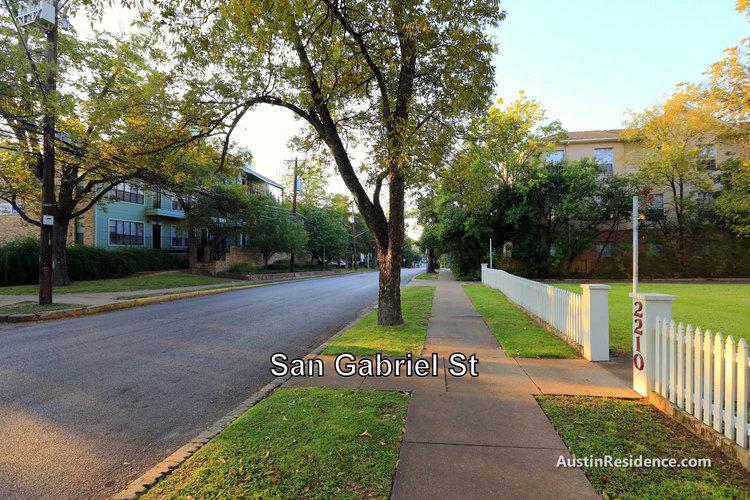 West Campus San Gabriel St Rentals