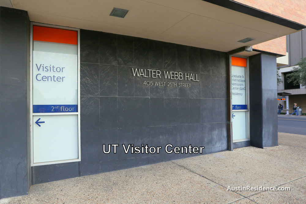 West Campus UT Austin Visitor Center