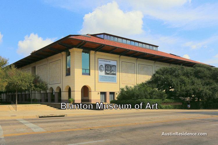 West Campus Blanton Museum of Art