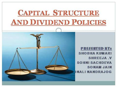dividend policy and value of the firm