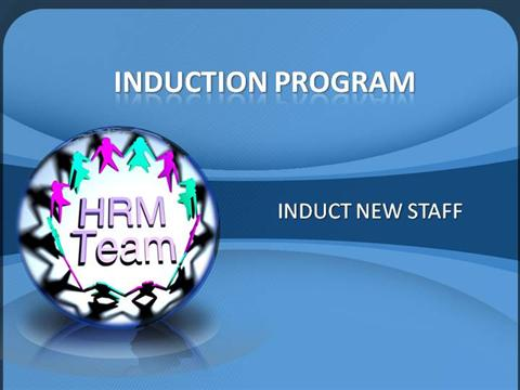 How to induct new staff authorstream for New employee orientation template powerpoint