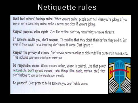 email netiquette 10 rules of dating