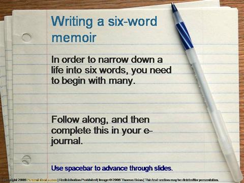 How to Write a Memoir: Your Story in Six Steps