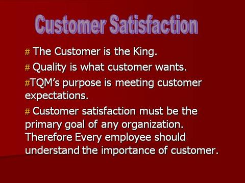 Customer satisfaction: review of literature and application to the product-service systems