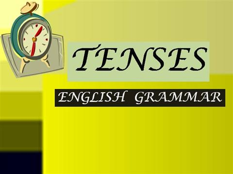 Tenses ppt free download